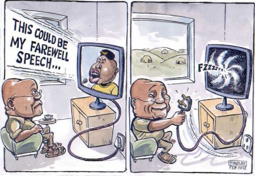 'Julius Unplugged': Africartoons.com