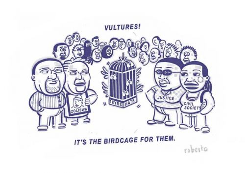 'The Birdcage': Africartoons.com