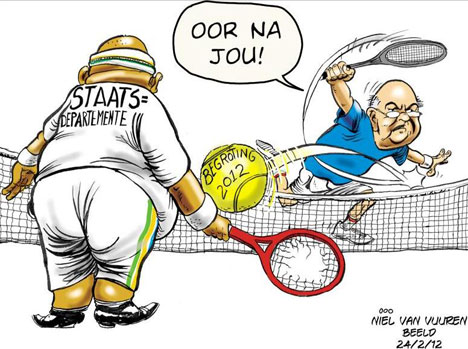 'Will State Departments Manage?': Africartoons.com