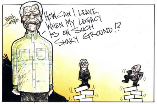'Madiba and his Legacy': Africartoons.com