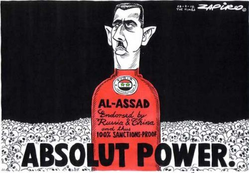 'Absolut Power': Africartoons.com