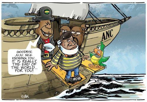 'No Longer on the Leader Ship': Africartoons.com