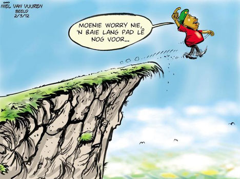 'A Long Road Ahead': Africartoons.com