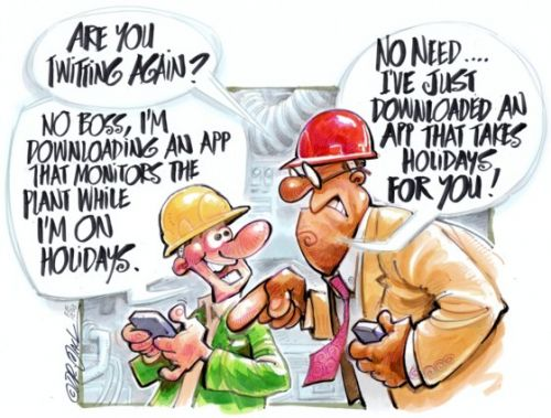 'Replaced by Technology': Africartoons.com