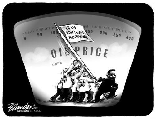 'Raising the Stakes in Iran': Africartoons.com