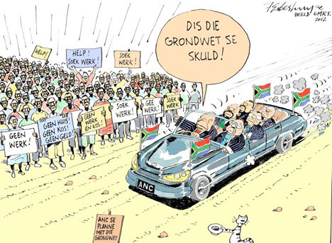 'Blame it on the Constitution': Africartoons.com
