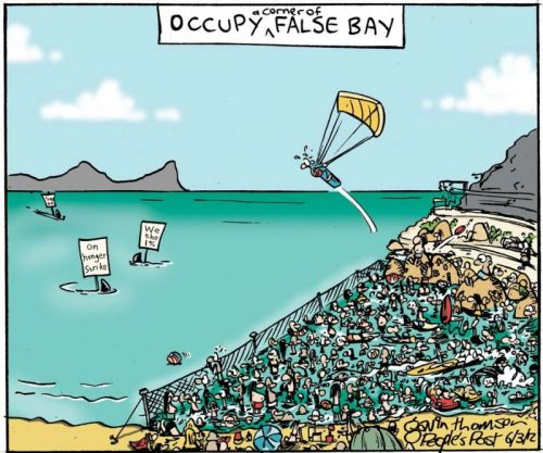 'Occupy False Bay': Africartoons.com