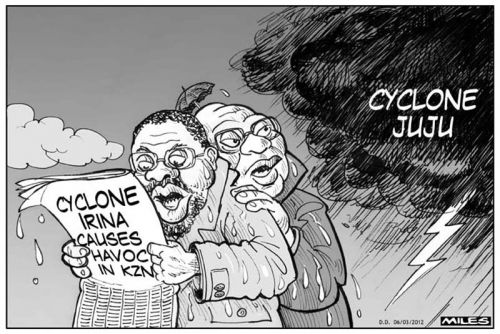 'Heavy Weather': Africartoons.com