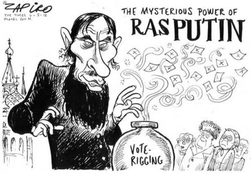 'Ra Ra Rasputin': Africartoons.com