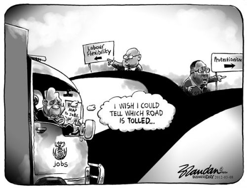 'Two Roads Diverged': Africartoons.com