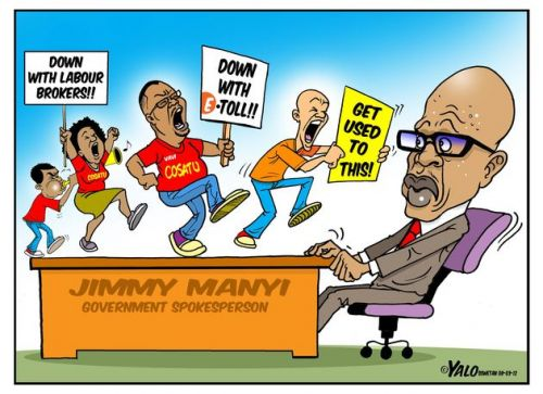 'Right on the Manyi': Africartoons.com