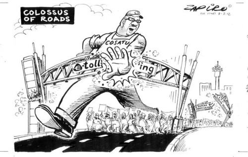 'Colossus of Roads': Africartoons.com