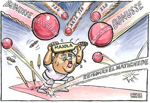 'Majola Under Attack': Africartoons.com