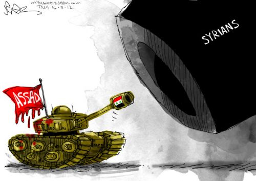 'The Syrian People Will Rise': Africartoons.com