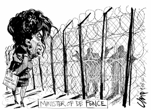'Minister of De Fence': Africartoons.com