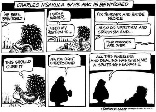 'Bewitched and Bewildered ': Africartoons.com