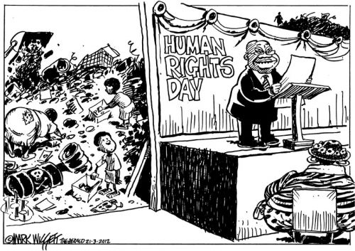 'Human Rights and ANC Wrongs': Africartoons.com