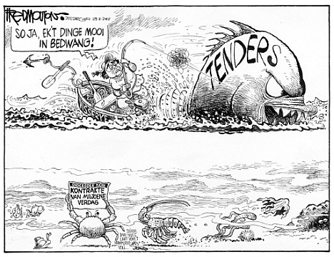 'Catching the Big Fish': Africartoons.com