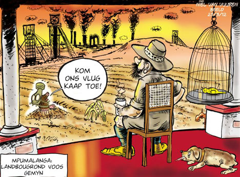 'Pollution': Africartoons.com