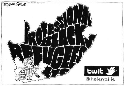 'Helen Zille's Anti-Social Network': Africartoons.com