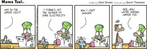 'Reduced Consumption': Africartoons.com