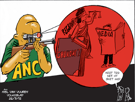 'Targeting the Media, the Law and the Constitution': Africartoons.com