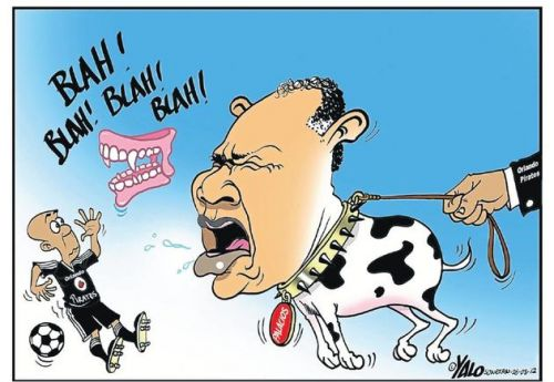 'Pirates Coach is a Toothless Dog': Africartoons.com