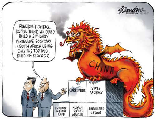 'A Few 'Brics' Missing': Africartoons.com