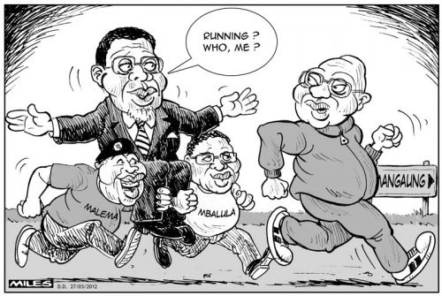 'Carrying Their Candidate': Africartoons.com