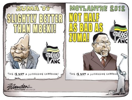 'Two in Succession': Africartoons.com
