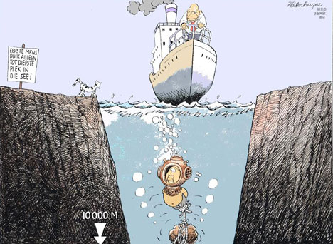'Reaching New Depths': Africartoons.com