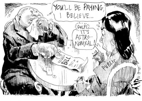 'Paying the Bill': Africartoons.com