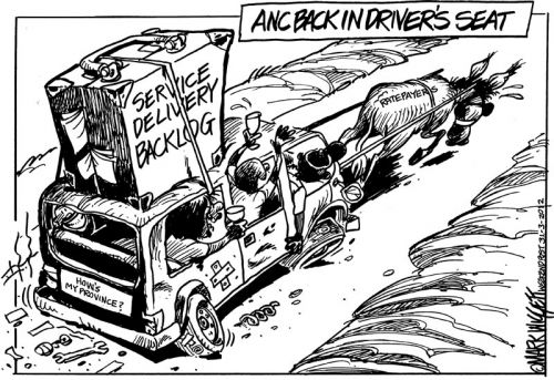 'The ANC Gets Another Chance in PE': Africartoons.com