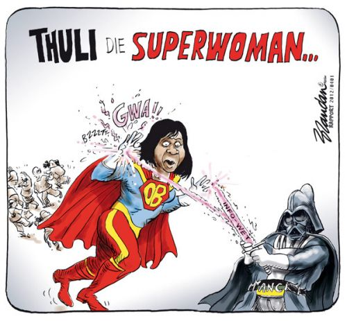 'Thuli the Superwoman': Africartoons.com