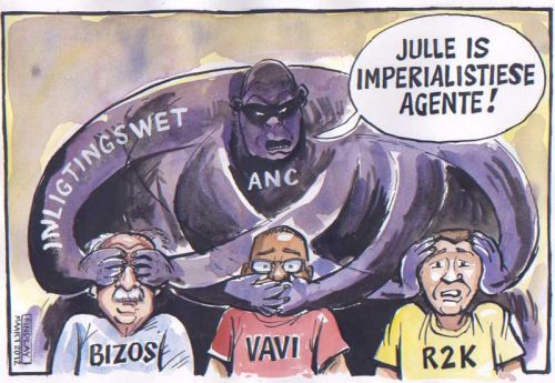 'See No Evil, Hear No Evil, Speak No Evil ': Africartoons.com