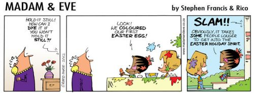 'The Spirit of Easter': Africartoons.com