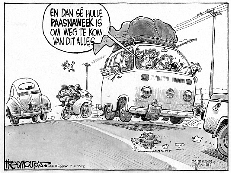 'Easter on the Roads': Africartoons.com