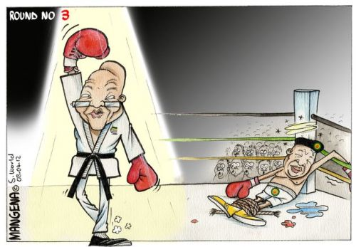 'Knocked Out': Africartoons.com