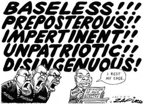 'Bank Statement': Africartoons.com