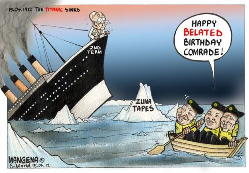 'Jumping Ship': Africartoons.com