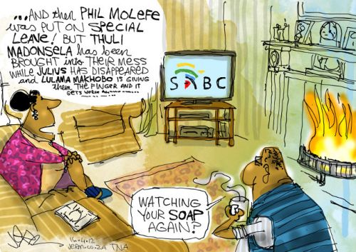 'Another SABC Soapy': Africartoons.com