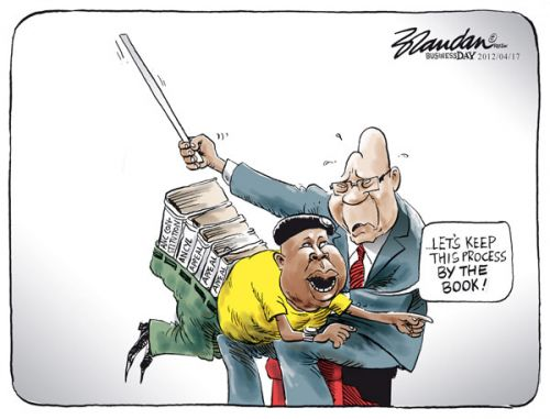 'By the Book': Africartoons.com