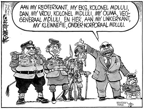 'Familyar Appointments': Africartoons.com