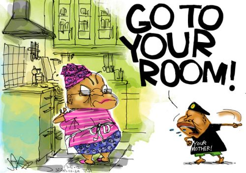 'Bad Behaviour': Africartoons.com
