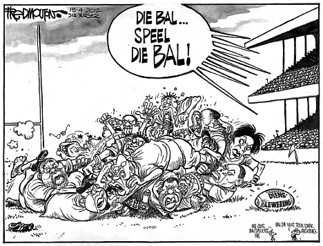 'The ANC Drops the Ball': Africartoons.com