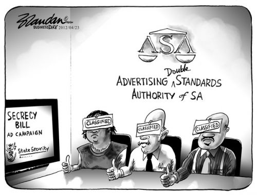 'Double Standards': Africartoons.com