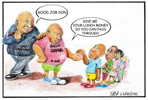 'Bullies': Africartoons.com