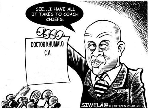 'Chiefs Need a Doctor': Africartoons.com