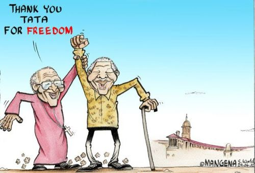 'Thank You Tata': Africartoons.com
