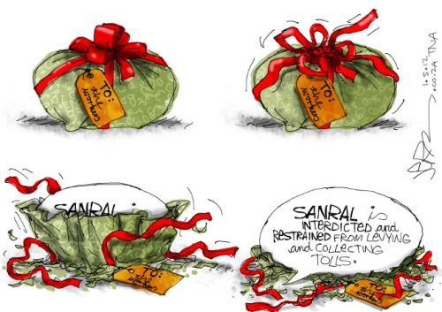 'A Worker's Day Gift': Africartoons.com